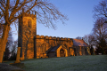 st peter church tankersley south yorkshire uk churches worship religion christian british architecture architectural buildings old winter sunlight england english angleterre inghilterra inglaterra united kingdom