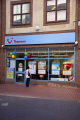 branch thomson holidays leeds city centre west yorkshire travel agent office shop window woman looking england english angleterre inghilterra inglaterra united kingdom british