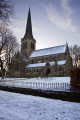 holy trinrty parish church wentworth south yorkshire uk churches worship religion christian british architecture architectural buildings village gothic victorian winter snow 1877 england english angleterre inghilterra inglaterra united kingdom