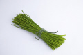 bunch cut chives food nourishment nutrients abstracts fresh cooking ingredients herbs united kingdom british