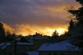 turbulent sunset snow showers. taken southern limousin france sky natural history nature correze corrèze monedieres monédières weather meteorolgy twilight evening winter la francia frankreich french