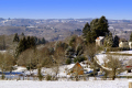 blue skies snow. taken southern limousin france. french landscapes european corrèze correze snow forest france frozen monedieres monédières winter valley la francia frankreich