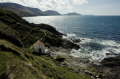 niarbyl bay fishermans hut west coast isle man uk coastline coastal environmental manx sun quaint england english angleterre inghilterra inglaterra united kingdom british