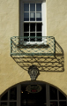 wrought iron balcony portmeirion village british architecture architectural buildings pastel colours gwynedd wales welsh país gales united kingdom