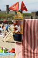 punch judy peel beach isle man british seaside coastal resorts leisure traditional entertainment manx england english angleterre inghilterra inglaterra united kingdom