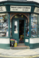door ironmongers pwllheil north wales uk shops commercial buildings retailers british architecture architectural iromonger shop buckets outside doorway gwynedd welsh país gales united kingdom