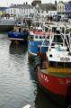 fishing boats moored ramsey harbour isle man harbor uk coastline coastal environmental power green energy road industrial britain chimneys manx england english angleterre inghilterra inglaterra united kingdom british