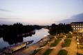 richmond thames surrey view river terraces dusk uk rivers waterways countryside rural environmental evening summer drinking venue england english angleterre inghilterra inglaterra united kingdom british