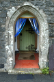 st catherine church doorway llanystumdwy north wales uk churches worship religion christian british architecture architectural buildings lloyd george birthplace village gwynedd welsh país gales united kingdom