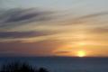 strong orange sunset irish sea northern ireland isle man sunsets sky natural history nature manx mountains england english angleterre inghilterra inglaterra united kingdom british