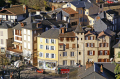 town tull france quai baluze correze river french buildings european corrèze valley medieval mediaeval townscape urban shops offices commerce commercial limousin la francia frankreich