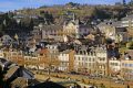 town tull france quai baluze correze river french landscapes european corrèze valley medieval mediaeval townscape urban shops offices commerce commercial limousin la francia frankreich