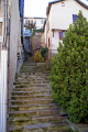 town tull france steps rue duhamel alverge french landscapes european corrèze correze river valley medieval mediaeval townscape urban limousin la francia frankreich