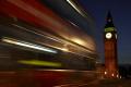 big ben night taken westminster bridge london bus passing using time exposure parliament square famous sights capital england english houses clock lights city landmark historic cockney angleterre inghilterra inglaterra united kingdom british
