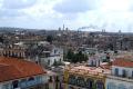 view havana cuba aerial old town square caribbean cuban