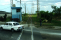 railroad cuba railway lines old cars povery poor caribbean cuban