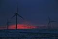 whitelee wind farm near glasgow. sunrises sky natural history nature alternative energy moors glasgow central scotland scottish scotch scots escocia schottland united kingdom british