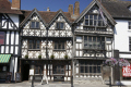 exterior view harvard house garrick inn.historic inn historic innhistoric 14th 15th century tudor style wooden timber frame building stratford warwickshire famous william shakespeare half timbered buildings historical uk history british architecture architectural town tourist attraction beams stratford-on-avon stratford on avon stratfordonavon england english angleterre inghilterra inglaterra unit