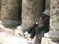 old man smoking cigar havana cuba people tobacco anti social drug health addiction nicotine lung cancer emphysema cardiovascular disease smokers human activities relaxing contemplating sunshine caribbean cuban