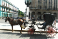 horse carriage havana cuba colonial mediterranean spanish historical tour transport caribbean cuban