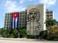 ministry interior building che guevara murial plaza la revolución revolution square havana cuba history science vedado government fidel castro communism communist caribbean cuban