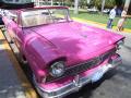 classic pink american car havana cuba cars caribbean cuban
