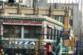 brooklyn pizza place new york american yankee dental care best world stores shops wendys burger king traffic lights colourful colorful busy big apple united states
