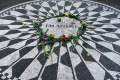 john lennon memorial strawberry fields central park new york city american yankee dakota building beatles attraction landmark manhattan big apple united states