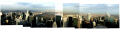 panorama joiner central park aerial view rockefeller center new york city american yankee panoramic nyc rock manhattan sky scrapers overlooking high rise cityscape big apple united states