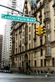 central park west dakota building new york city american yankee john lennon memorial beatles attraction landmark manhattan junction traffic lights big apple united states