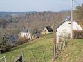 tiny hamlet le bessou near correze limousin french landscapes european corrèze forest monedieres monédières winter valley france la francia frankreich