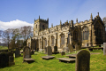 church st nicholas bradfield south yorkshire uk churches worship religion christian british architecture architectural buildings 15th century village building peak district sheffield england english angleterre inghilterra inglaterra united kingdom