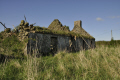 derelict stone built farmhouse uk cottages british housing houses homes dwellings abode architecture architectural buildings rural construction roofless ireland agricultural county antrim aontroim northern ulster irish irland irlanda united kingdom