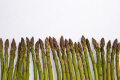 asparagus tips food nourishment nutrients abstracts fresh vegetable edible white background united kingdom british