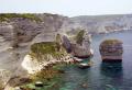 cliffs east bonifacio southern corsica french landscapes european corse-du-sud corse du sud corsedusud limestone precipice mediterranean granite island corse france la francia frankreich