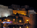 corsica citadel calvi french landscapes european haute-corse haute corse hautecorse harbour port marina haven quayside yacht boat bateau citadelle twilight evening night corse france la francia frankreich