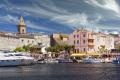 st florent corsica town harbour french landscapes european haute-corse haute corse hautecorse port marina haven quayside yacht boat eglise citadelle saint corse france la francia frankreich