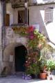 corsica floral doorway town saint-florent saint florent saintflorent french buildings european haute-corse haute corse hautecorse port saint flowers colourful corse france la francia frankreich