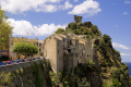 hilltop village nonza corsica. french landscapes european haute-corse haute corse hautecorse genoise tower mediterranean precipitous tour corsica corse france la francia frankreich