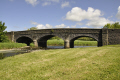 stone bridge river bush stranocum british architecture architectural buildings construction arches county antrim aontroim northern ireland ulster irish irland irlanda united kingdom