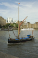 sailing barge gladys river thames city london transport transportation boat cockney england english angleterre inghilterra inglaterra united kingdom british
