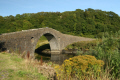 famous bridge atlantic leading seil island 14 miles oban scotland. locally known clachan bridge. british architecture architectural buildings slate argyll bute argyllshire scotland scottish scotch scots escocia schottland united kingdom