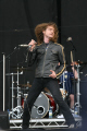 toby jepson. scottish band gun. live stage 2008. action shot. rock bands roll pop stars celebrities celebrity fame famous star performer singer concert festival perth kinross perthshire scotland scotch scots escocia schottland united kingdom british