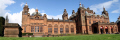panoramic view kelvingrove art gallery museum. opened 1901 uk museums british architecture architectural buildings historical building glasgow central scotland scottish scotch scots escocia schottland united kingdom