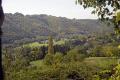 corrèze valley near tulle southern limousin france french landscapes european correze forest monedieres monédières autumn la francia frankreich