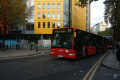bendy bus st giles street london buses transport transportation cockney england english angleterre inghilterra inglaterra united kingdom british