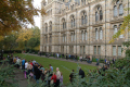queue natural history museum london museums galleries buildings architecture capital england english united kingdom british