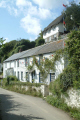 terraced cottages helford village uk british housing houses homes dwellings abode architecture architectural buildings lizard cornwall cornish england english angleterre inghilterra inglaterra united kingdom