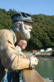 wooden mariner bald man king harry ferry boats marine river fal falmouth cornwall cornish england english angleterre inghilterra inglaterra united kingdom british