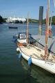 boats moored river fal ghost fleet distant marine freyja falmouth cornwall cornish england english angleterre inghilterra inglaterra united kingdom british